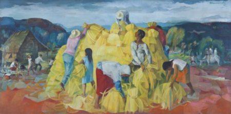 Vicente Manansala-Golden Harvest-1969