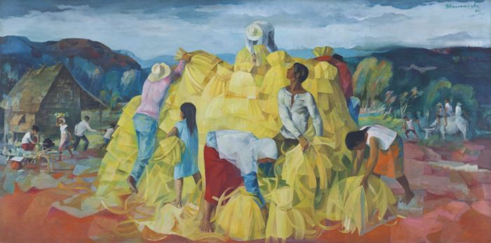 Vicente Manansala-Golden Harvest-1969