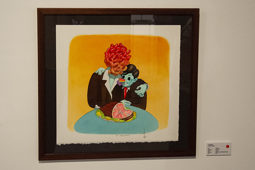 Victor Castillo, Fousion Gallery Urvanity Art 2020