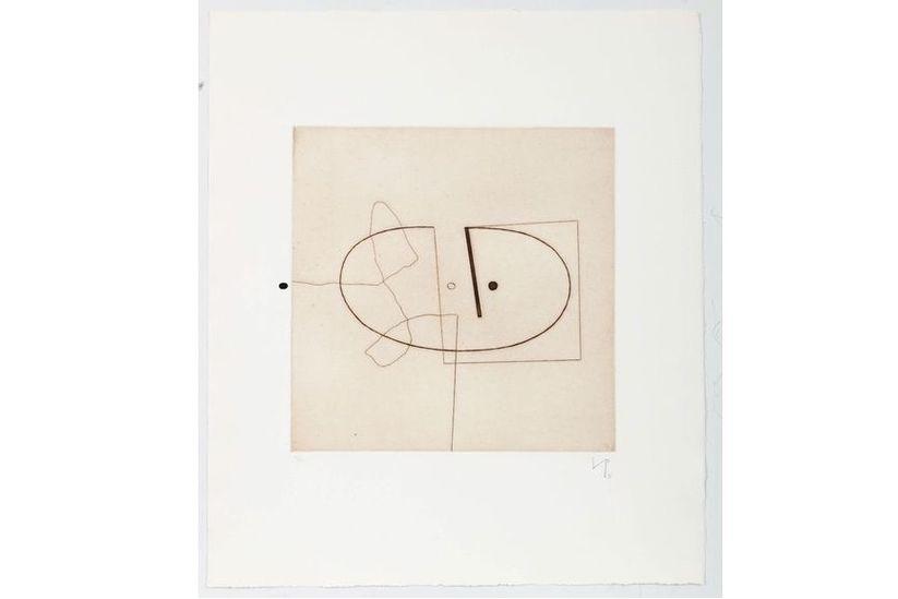 Victor Pasmore - Linear Motif 7, 1976
