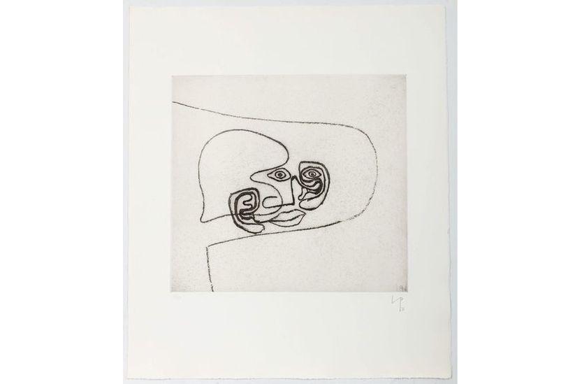 Victor Pasmore - Linear Motif 8, 1965-76