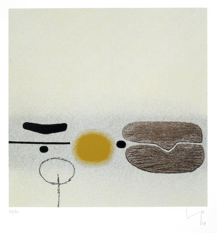 Victor Pasmore-Points of contact no. 31-1979