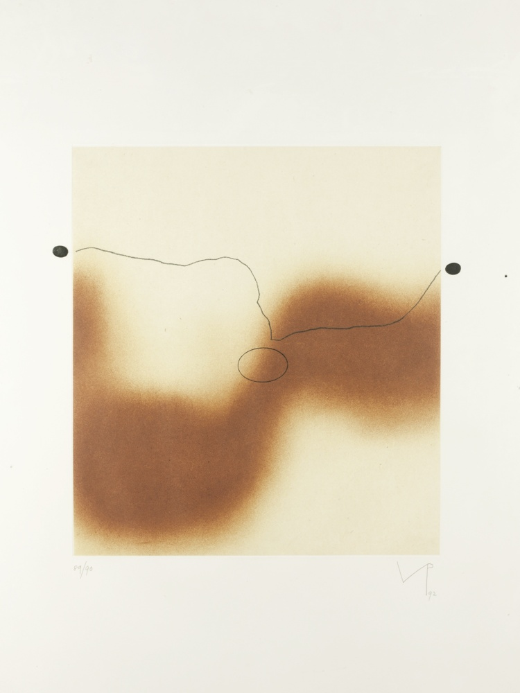 Victor Pasmore-The Desert Sand-1992