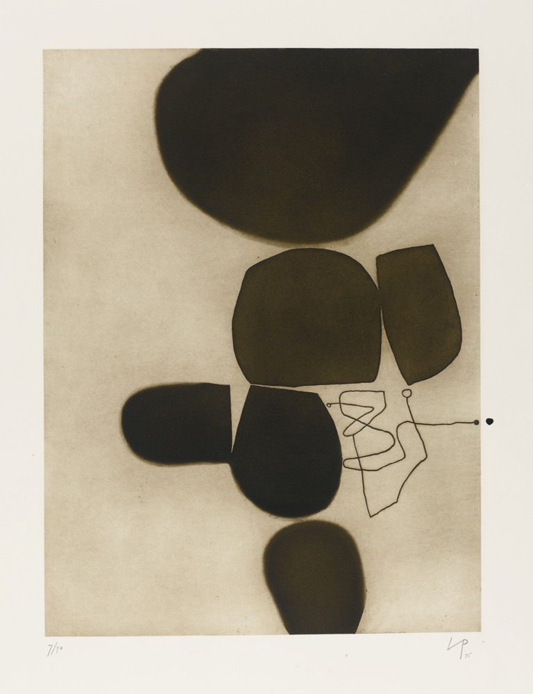 Victor Pasmore-Three Images-1975