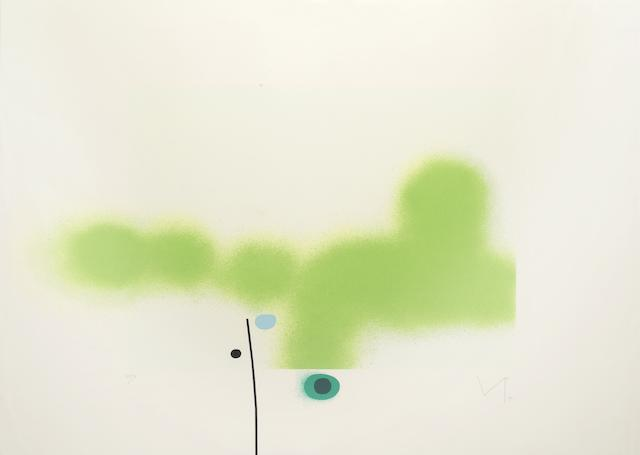 Victor Pasmore-Untilted 8 (Lynton G66)-1990