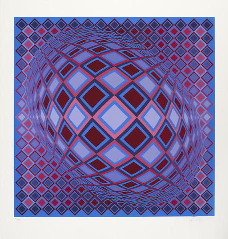 Victor Vasarely-Basel-1983