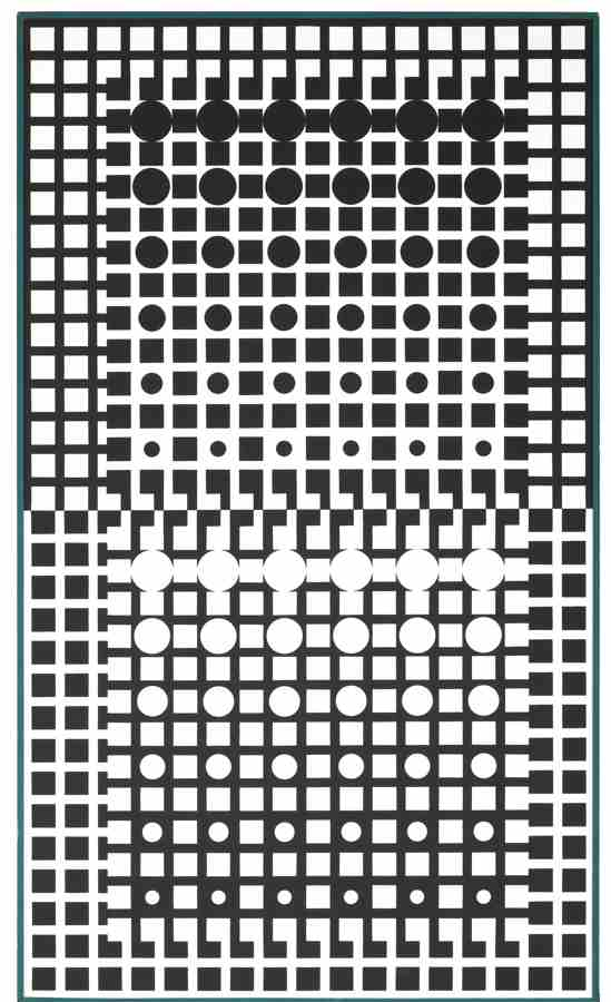 Victor Vasarely-Centauri XI-1965