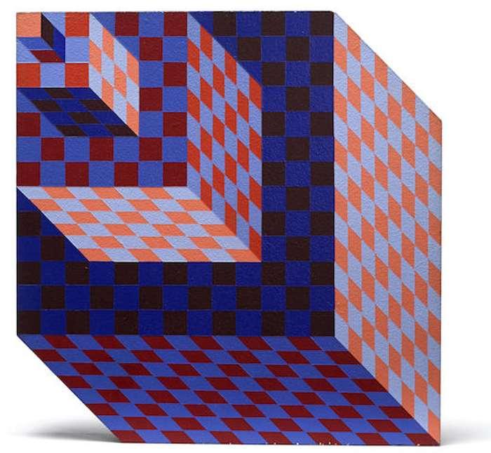 Victor Vasarely-Felhoe-1983