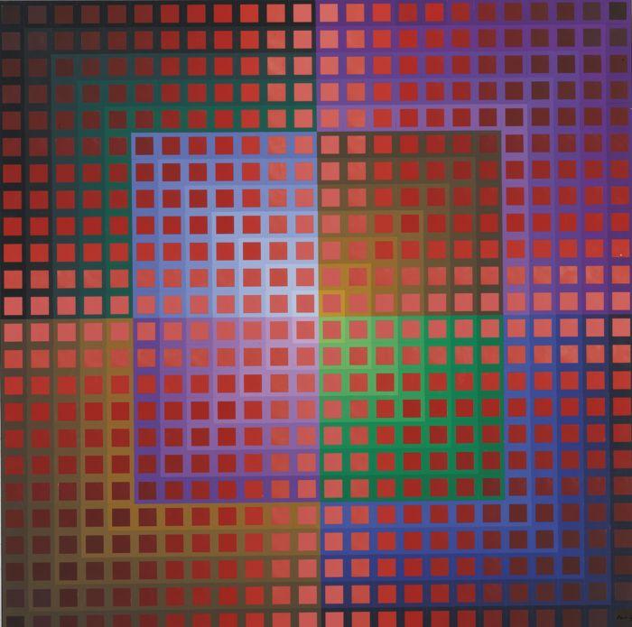 Victor Vasarely-Koentoesh-1974