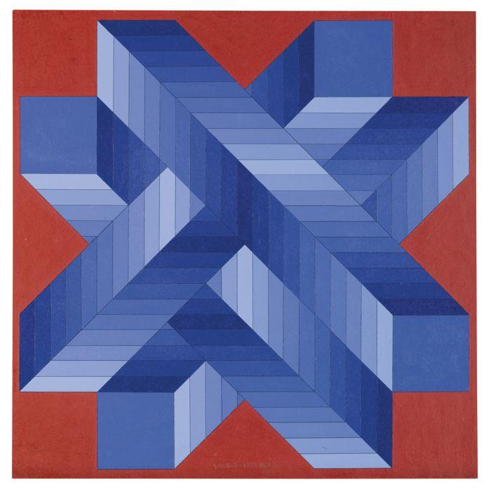 Victor Vasarely-Pelda-1976