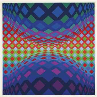 Victor Vasarely-Reech-1974
