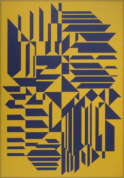 Victor Vasarely-Saavos-1984