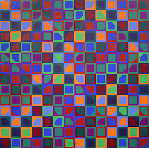 Victor Vasarely-Untitled-1966