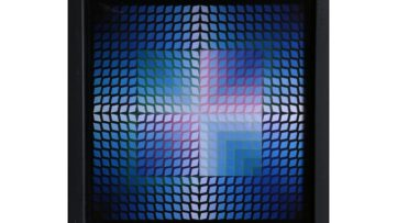 Victor Vasarely - Untitled 6 from Progressions