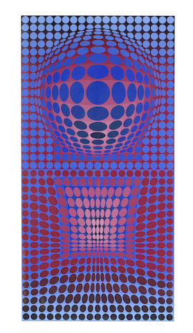 Victor Vasarely-VP-RB-1972