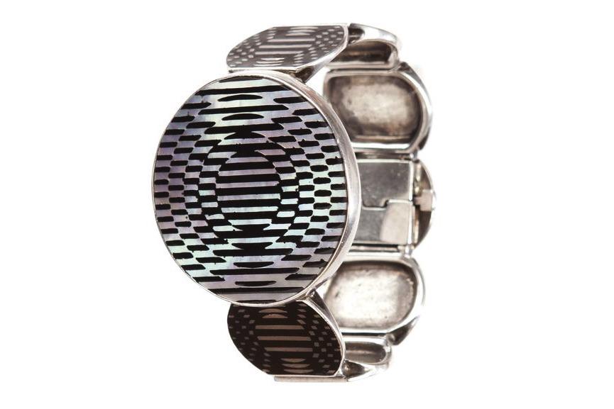 Victor Vasarely, bracelet Jolie, 1985.