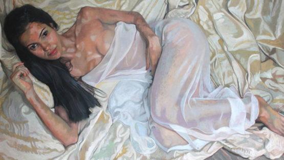 Victoria Russell - Otavia Kent (detail), 2013