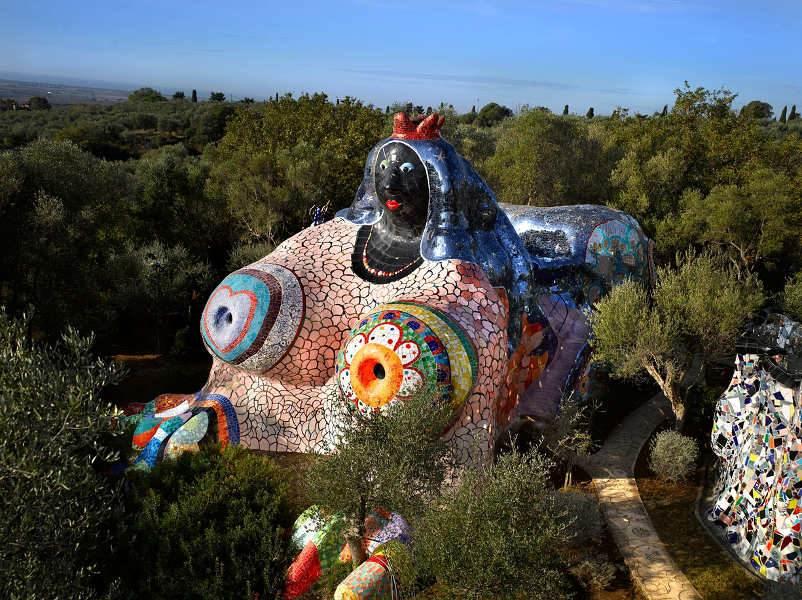 Niki de saint phalle widewalls - Jardin tarots niki de saint phalle ...