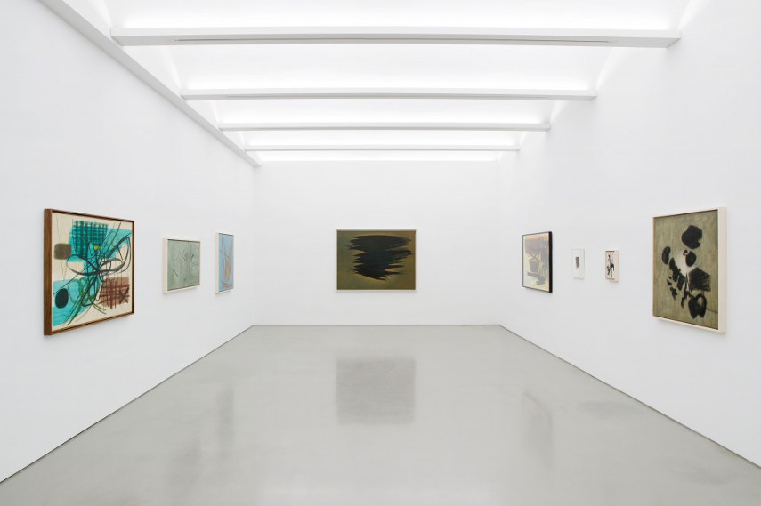 View of the exhibition A Constant Storm. Works from late 1922 to late 1989, made in Paris, France
