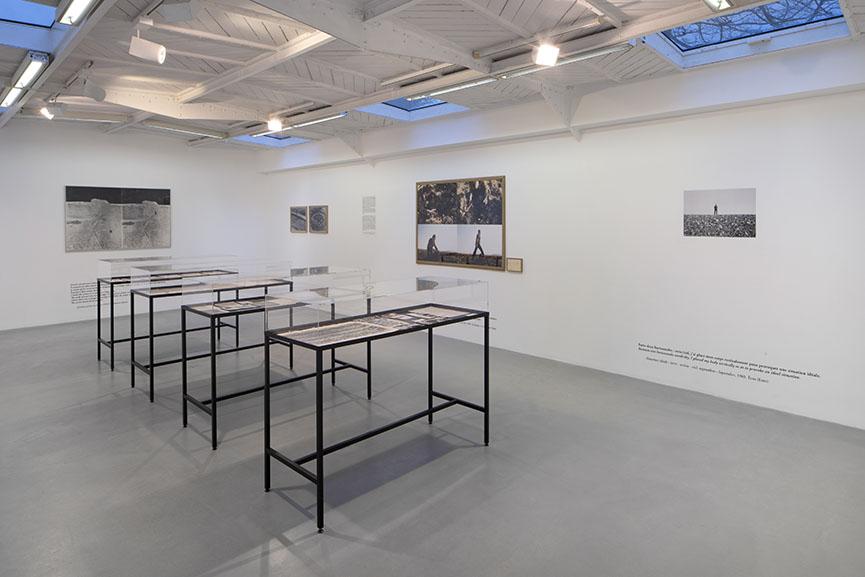 View of the exhibition Gina Pane Terreprotégée kamelmennour 2018-2019