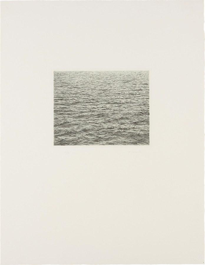 Vija Celmins-Drypoint - Ocean Surface-1983