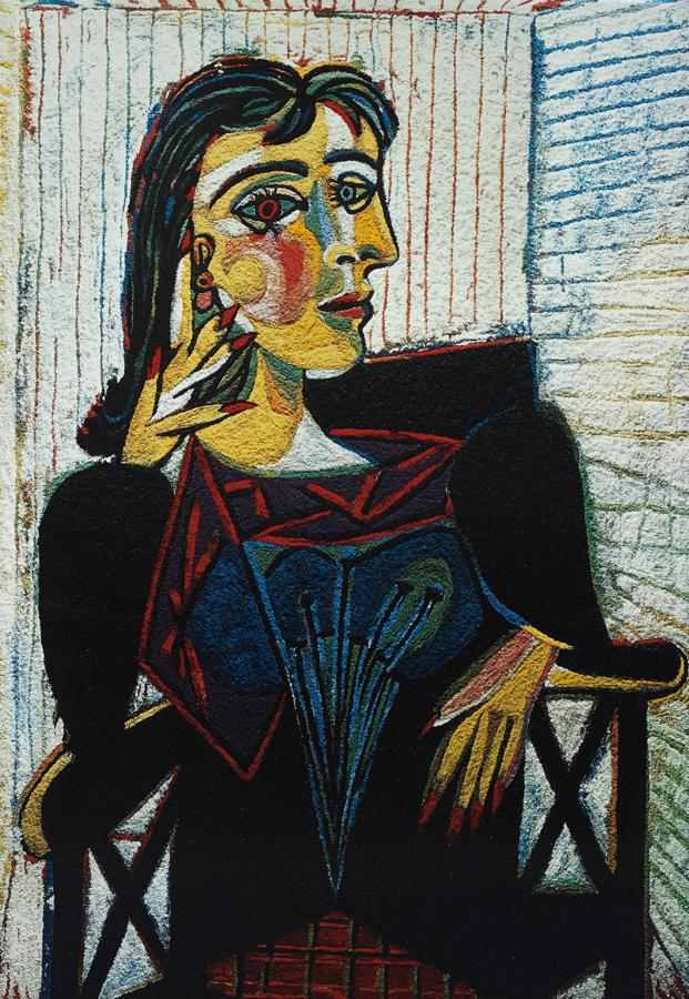 Vik Muniz-Dora Maar Seated, after Picasso from Pictures of Pigment-2007