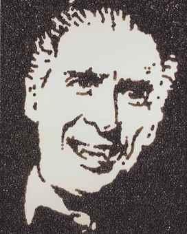 Vik Muniz-Dracula (from Caviar Monsters)-2004