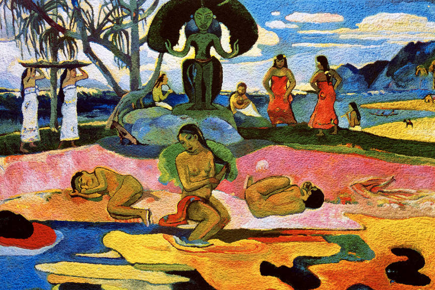 Mahana No Atua (Day of the Gods), after Gauguin, from the series Pictures of Pigment, 2005