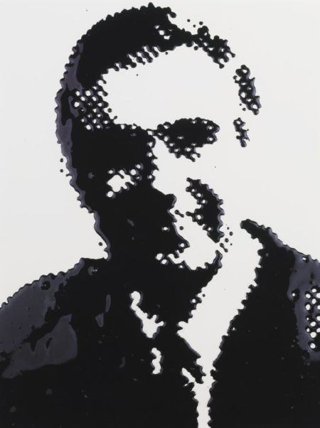 Vik Muniz-Pantheon I (American Men) Mr. Rogers From Pictures Of Ink-2000