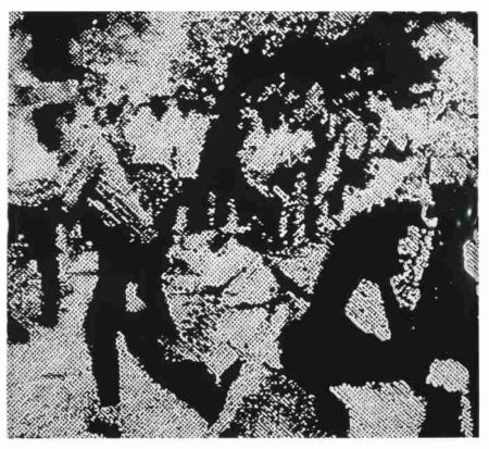 Vik Muniz-Race Riot After Warhol (From Pictures Of Ink)-2001