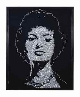 Vik Muniz-Sophia Loren-2004