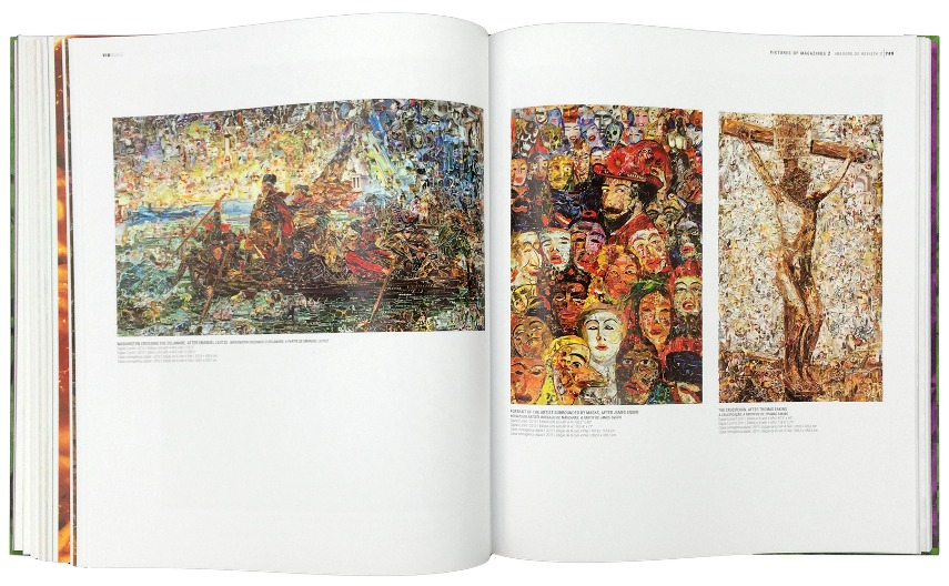Vik Muniz's Catalogue Raisonné, 1987-2015, one of the current exhibitions from 2017, incredible collections paintings