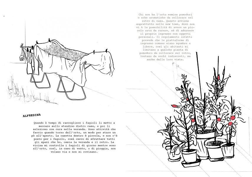 Elena Mazzi - Villa Unda, artist book, drawing, 2011, L'Aquila