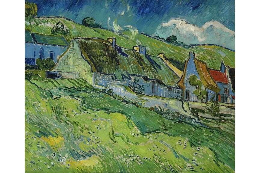 Vincent Van Gogh - Huts