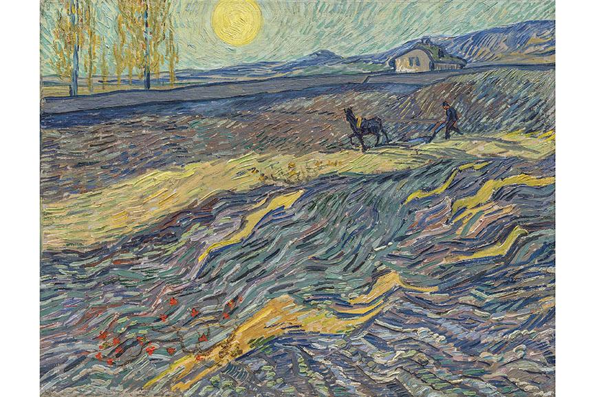 Vincent Van Gogh - Laboureur Dans Un Champ
