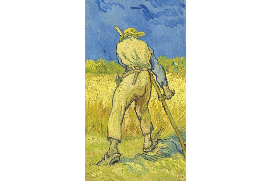Vincent Van Gogh - Le Moissonneur (D'Apres Millet)