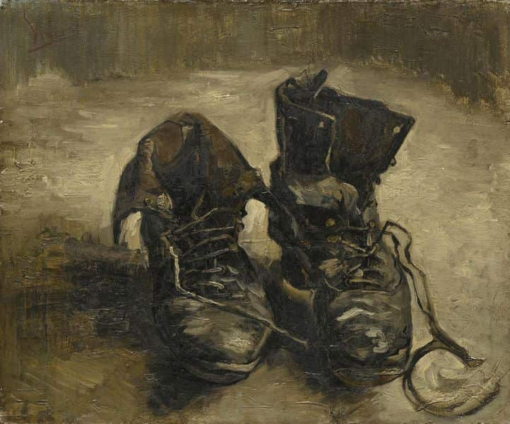 Vincent Van Gogh - Shoes, 1886