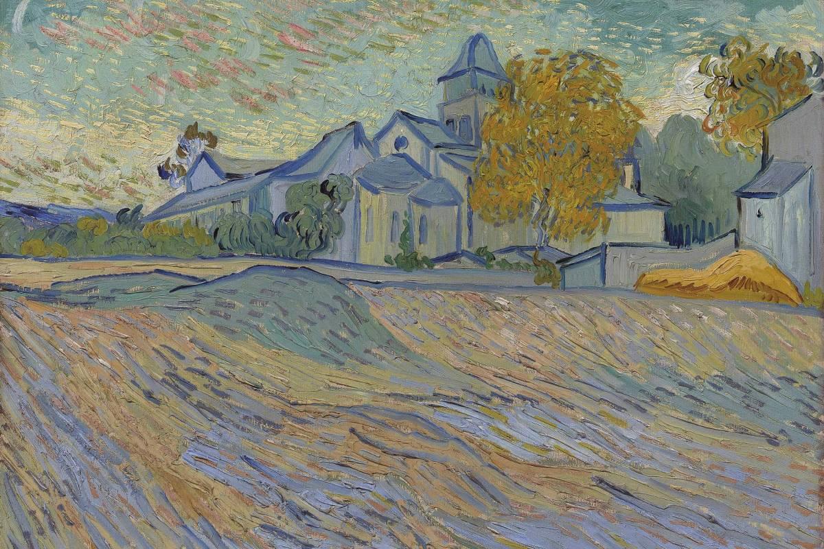 Vincent Van Gogh - Vue de l'asile et de la Chapelle Saint-Paul de Mausole (Saint-Rémy), 2018 2018