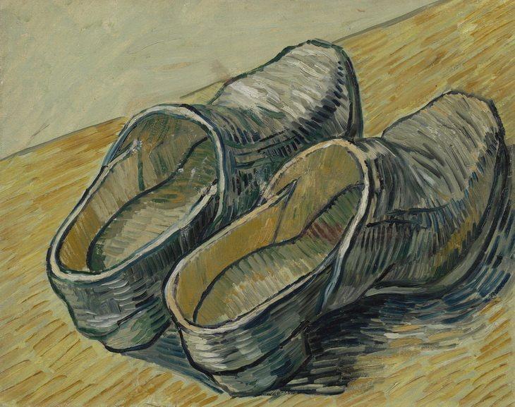 van Gogh - A Pair of Leather Clogs. MFAH 2019 Houston Texas