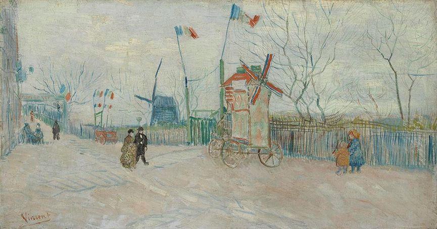 Vincent van Gogh - Impasse des deux frères, 1887