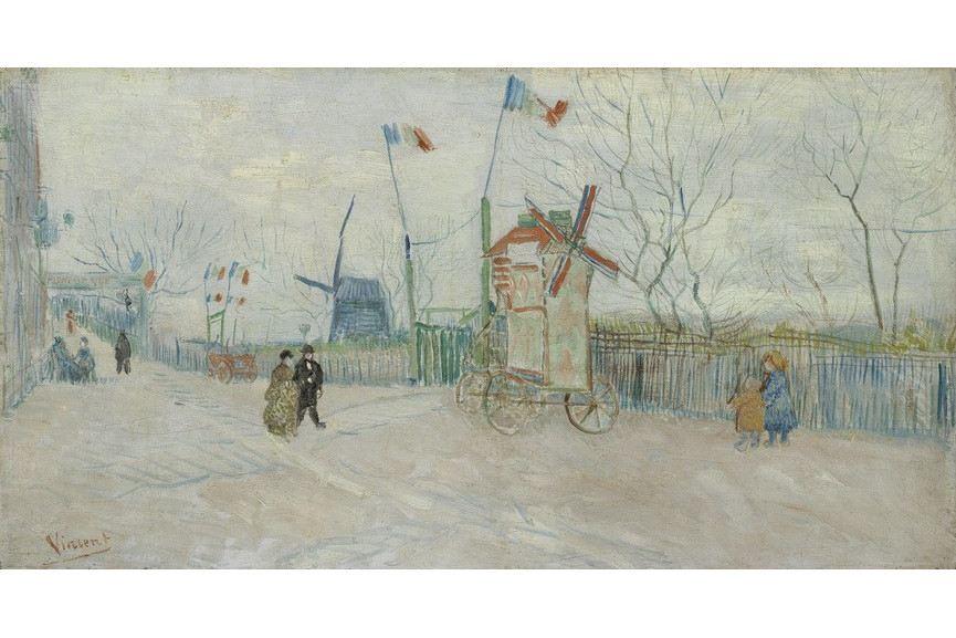 Vincent van Gogh - Impasse des deux freres