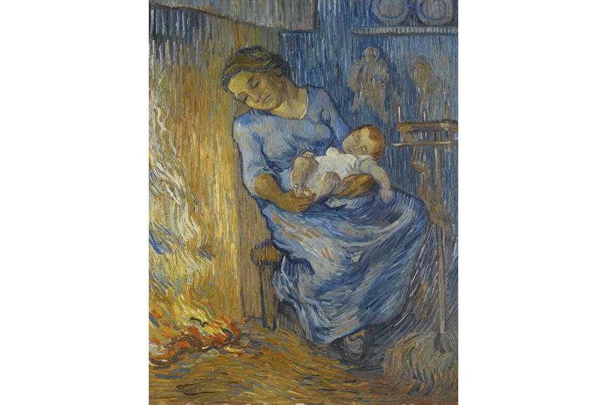 Vincent van Gogh - L'homme est en mer, via sotheby's