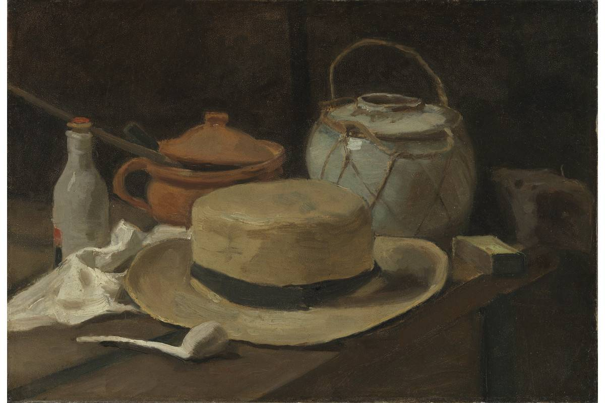 Vincent van Gogh - Still life with straw hat