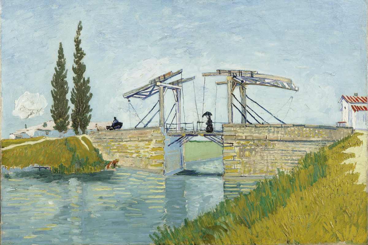 Vincent van Gogh - The Langlois Bridge at Arles