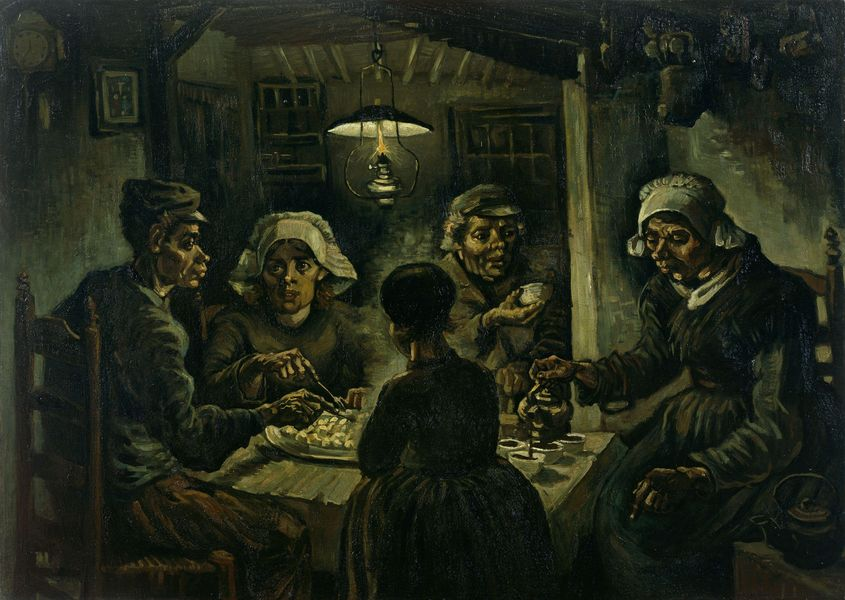 Vincent van Gogh - The Potato Eaters, 1885