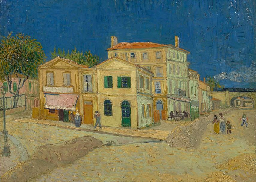 Vincent van Gogh - The Yellow House, 1888