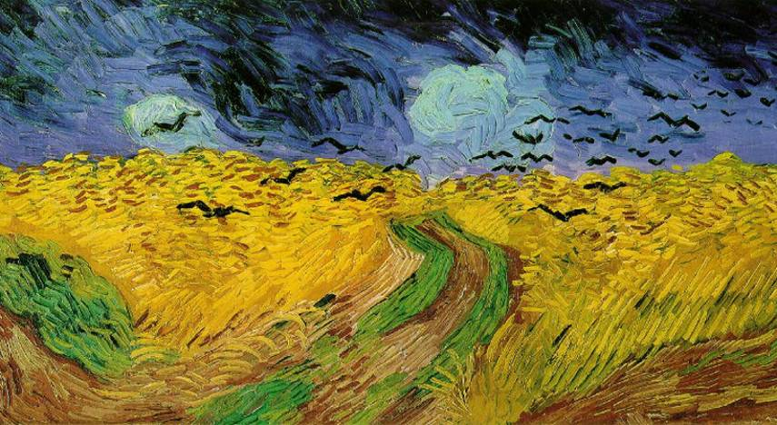 Vincent van Gogh - Wheatfield with Crows, 1890