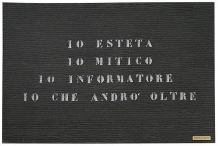 Vincenzo Agnetti-Ritratto D'Artista-1971