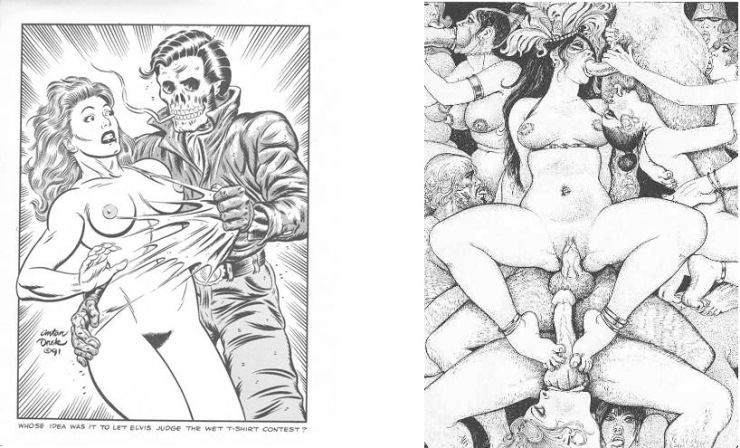 free vintage porn comicshow to tell if a guy has a big penis