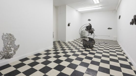 Violet Dennison - Tears on my Mirror Milk (Installation View), 2015